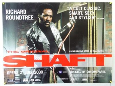 Lot 37 - SHAFT (2000 RR) - UK Quad Film Poster - BFI...