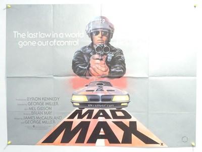 Lot 32 - MAD MAX (1980) - British UK Quad - Mel Gibson -...