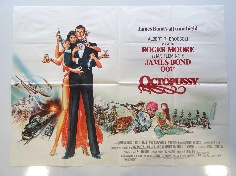 Lot 308 - JAMES BOND: OCTOPUSSY (1983) - UK Quad Film...