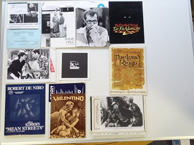 Lot 9 - A large quantity of press synopses and stills...