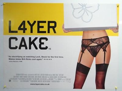 Lot 30 - LAYER CAKE (2004) rolled UK Quad film poster