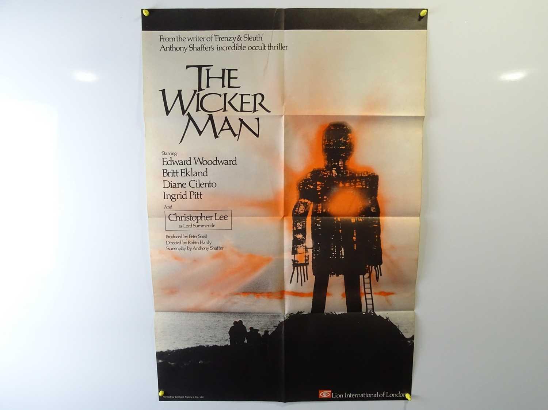 Lot 373 - THE WICKER MAN (1974) - UK One Sheet Film...