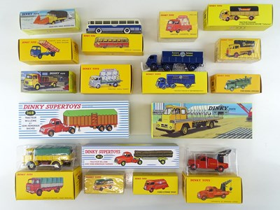 Lot 10 - A large quantity of ATLAS DINKY lorries and...