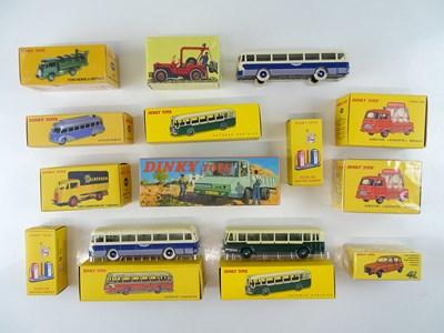 Lot 11 - A large quantity of ATLAS DINKY lorries, vans...