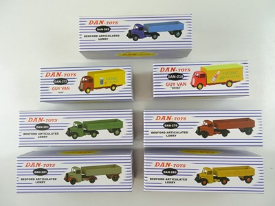 Lot 12 - A group of DAN-TOYS reproduction DINKY toys...