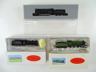 Lot 132 - A group of UNION MILLS N gauge steam...
