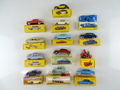 Lot 13 - A large quantity of ATLAS DINKY cars from the...