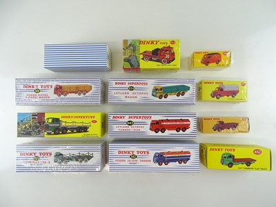 Lot 14 - A large quantity of ATLAS DINKY lorries and...