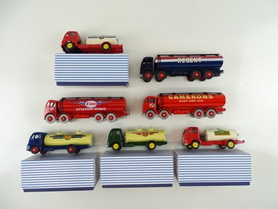 Lot 20 - A group of ATLAS DINKY tanker lorries, mostly...