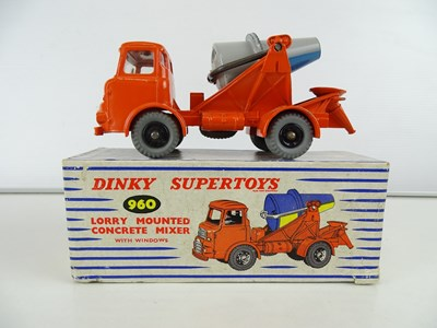 Lot 22 - A DINKY 960 Lorry Mounted Concrete Mixer,...