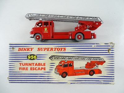 Lot 24 - A DINKY 956 Turntable Fire Escape repainted to...