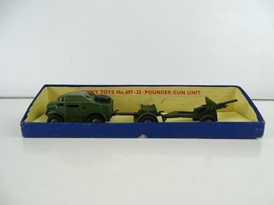 Lot 31 - A DINKY 697 25-Pounder Gun set in original...