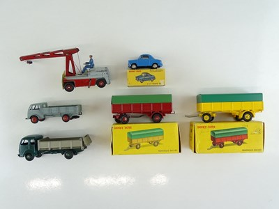 Lot 38 - A mixed group of FRENCH DINKY items including...