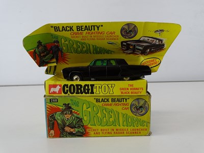 Lot 44 - A CORGI Toys 268 'The Green Hornet's Black...