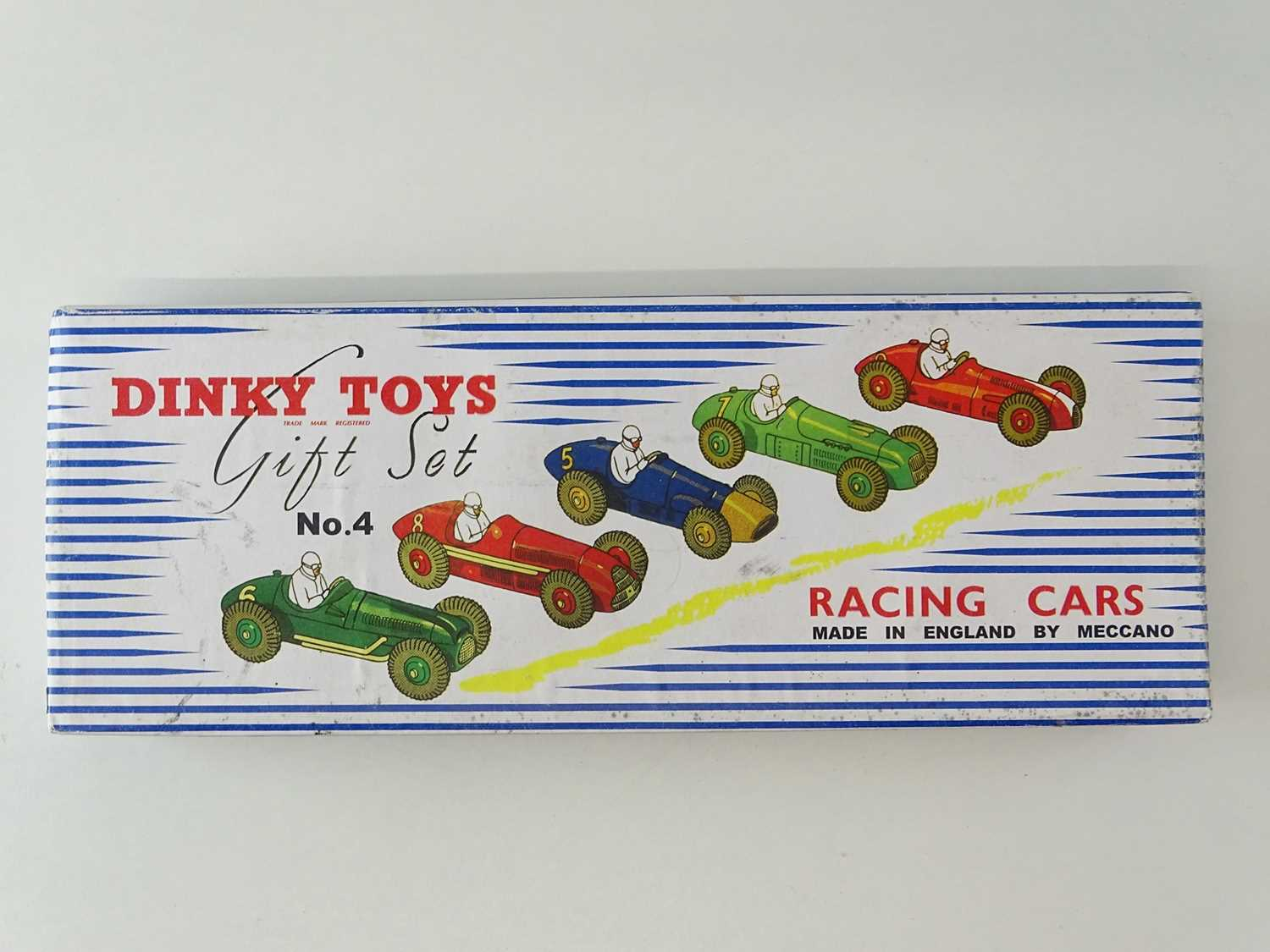 Lot 46 - A DINKY Toys Racing Cars Gift Set No. 4 -...