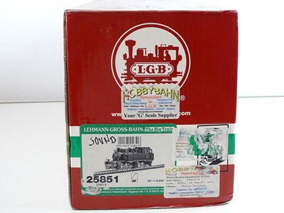 Lot 567 - An LGB G Scale 25851 BR99 class Mallet...
