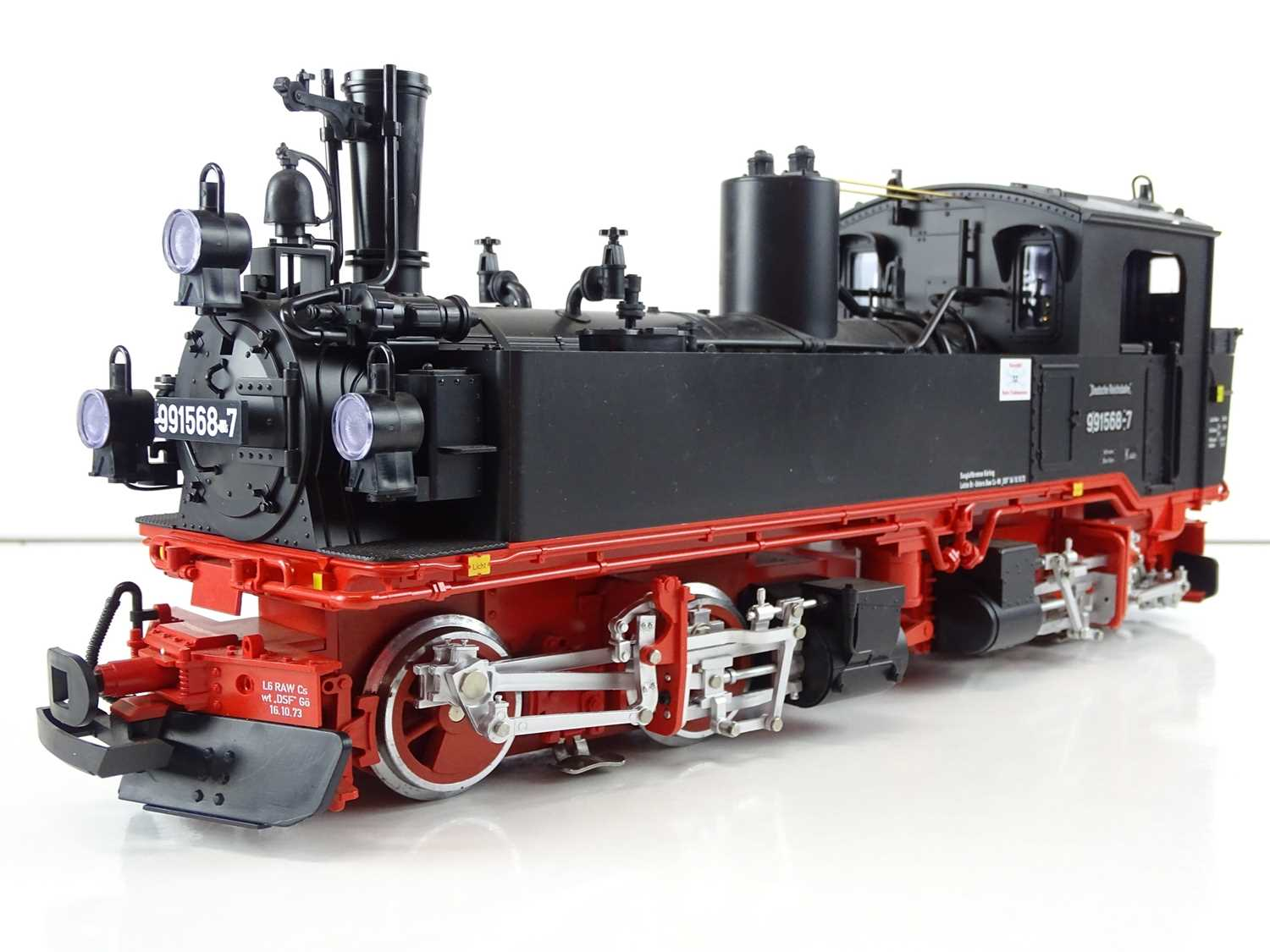 Lot 569 - An LGB G Scale 21842 BR99.1 class Mallet...