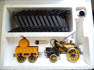 Lot 589 - A Hornby 3.5 inch scale G100 live steam...