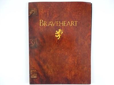 Lot 13 - BRAVEHEART (1995) - PRODUCTION FOLDER AND...
