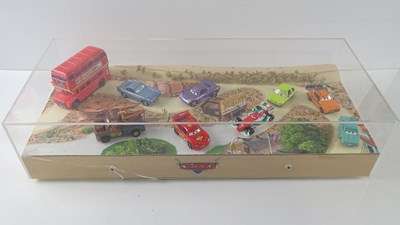 Lot 14 - CARS (2006) A hand built diorama by AMALGAM...