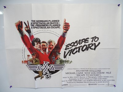 Lot 17 - ESCAPE TO VICTORY (1980) - British UK Quad -...