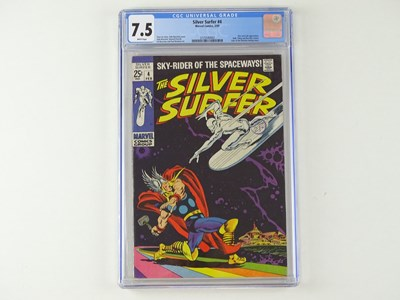 Lot 455 - SILVER SURFER #4 - (1969 - MARVEL - Cents...