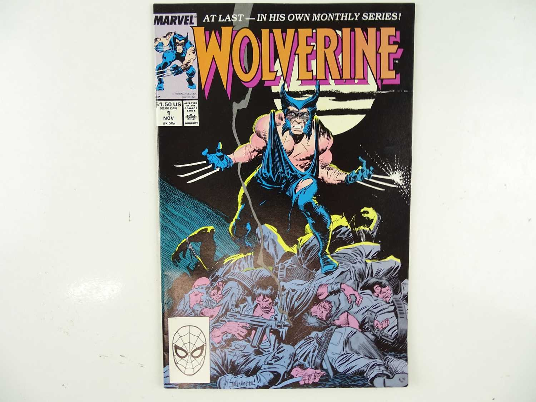 Lot 195 - WOLVERINE #1 - (1988 - MARVEL) - First...