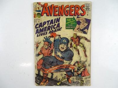 Lot 1 - AVENGERS #4 - (1964 - MARVEL - UK Price...
