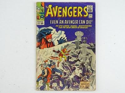 Lot 4 - AVENGERS #14 (1965 - MARVEL - UK Cover Price) -...