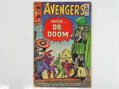 Lot 7 - AVENGERS# 25 (1966 - MARVEL) - Fantastic Four...