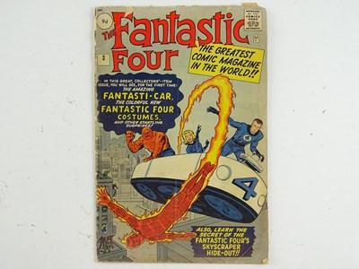Lot 15 - FANTASTIC FOUR #3 (1962 - MARVEL - UK Price...