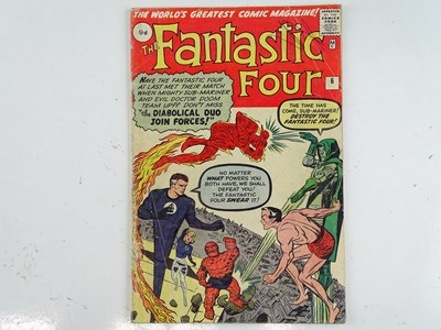 Lot 16 - FANTASTIC FOUR #6 (1962 - MARVEL - UK Price...