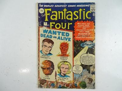 Lot 17 - FANTASTIC FOUR #7 (1962 - MARVEL - UK Price...