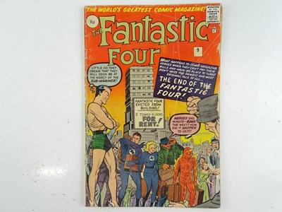 Lot 18 - FANTASTIC FOUR #9 (1962 - MARVEL - UK Price...