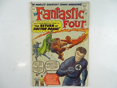 Lot 19 - FANTASTIC FOUR #10 (1963 - MARVEL - UK Price...