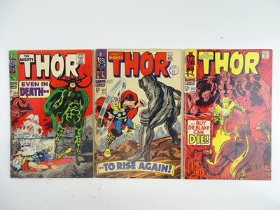 Lot 34 - THOR #150, 151 & 153 - (3 in Lot) - (1967 -...