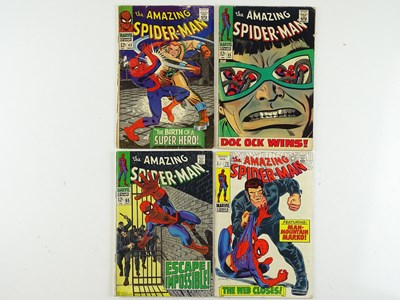 Lot 35 - AMAZING SPIDER-MAN #42, 55, 65, 73 - (4 in...