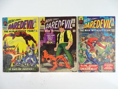 Lot 37 - DAREDEVIL #14, 15 & 19 - (3 in Lot) - (1966 -...