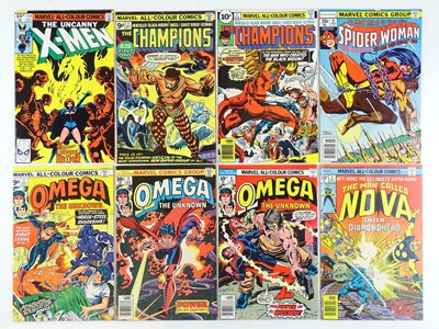 Lot 39 - X-MEN, CHAMPIONS, SPIDER-WOMAN, OMEGA THE...