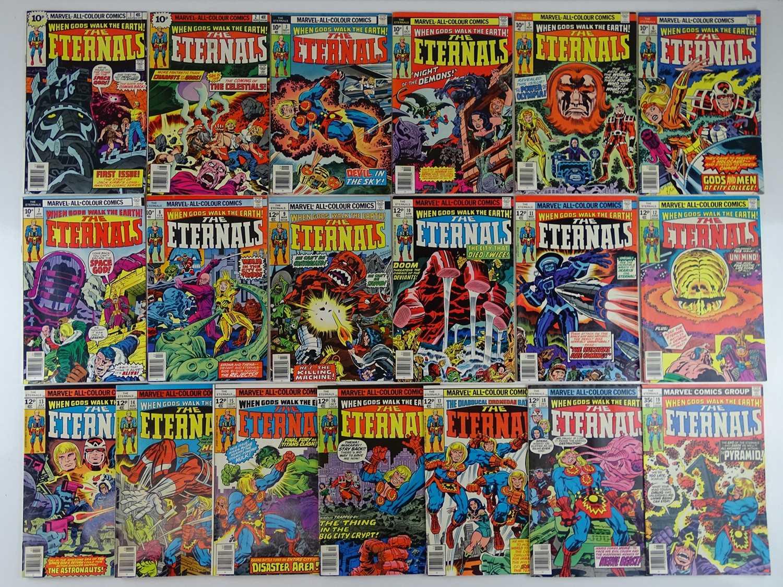 Lot 254 - ETERNALS #1, 2, 3, 4, 5, 6, 7, 8, 9, 10, 11,...