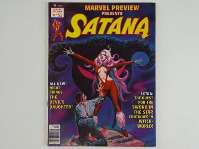 Lot 244 - MARVEL PREVIEW: SATANA #7 - (1976 - MARVEL) -...