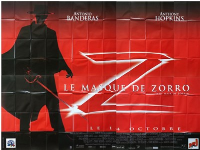 Lot 20 - MASK OF ZORRO (1998) - French 8 panel poster...